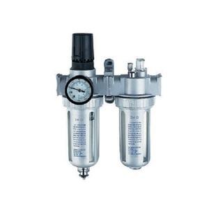 "Регулятор давления воздуха с лубрикатором и влагоотделителем 1/4"" дюйма Rotake AFRL-80"