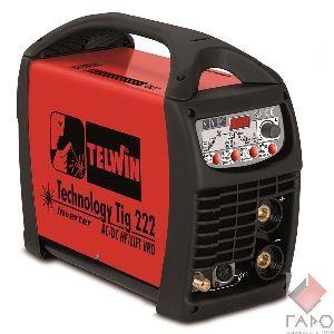 Сварочный инверторный аппарат TELWIN Technology Tig 222 AC/DC-HF/LIFT 230V