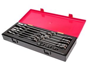Набор ключей трещоточных 8-19мм с подвижной головкой в кейсе 14 предметов JTC-K6142
