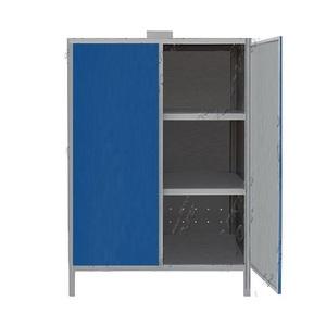 Шкаф для аккумуляторов с 3-мя полками ШМА-03
